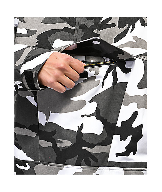 Rothco City Camo Anorak Jacket