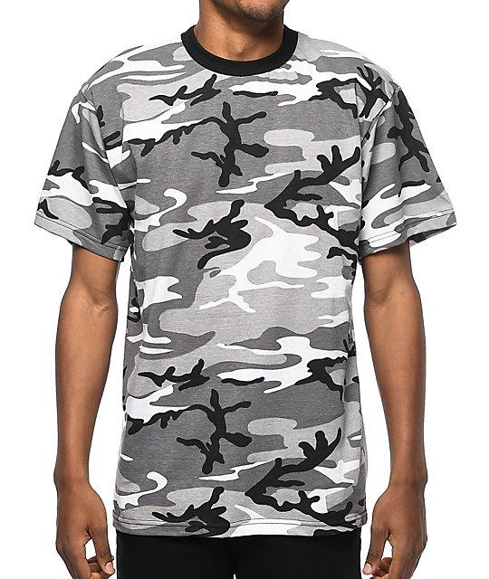 8d4db79a Rothco City Camo T-Shirt | Zumiez