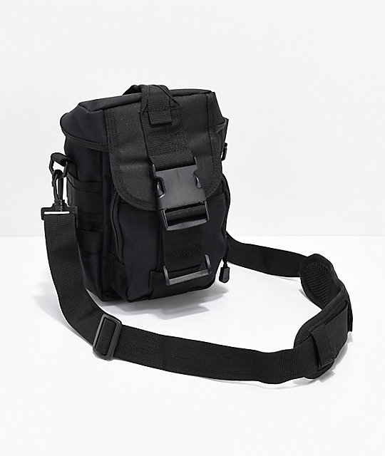 Rothco Flexipack Black Tactical Shoulder Bag