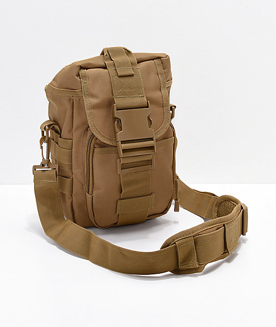Rothco Flexipack Brown Tactical Shoulder Bag