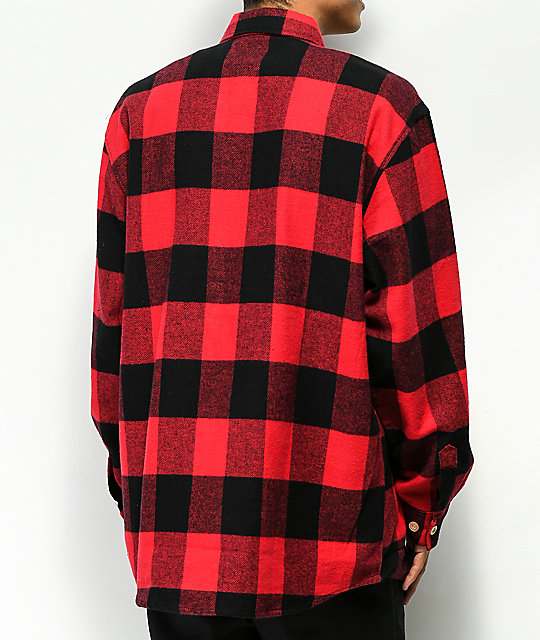 Rothco Heavyweight Red Flannel Shirt