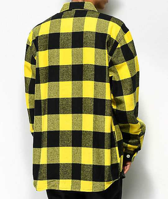 Rothco Heavyweight Yellow Flannel Shirt