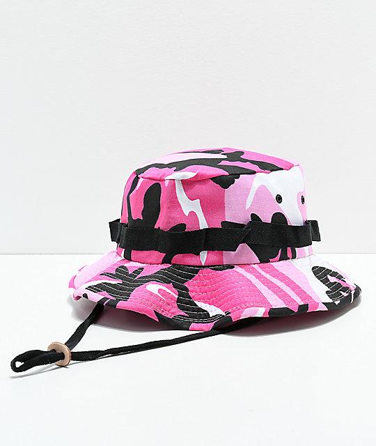 Rothco Jungle Pink Camo Bucket Hat  db25a1819d2f