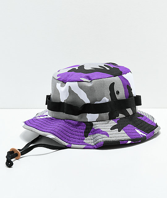 Rothco Jungle Violet Camo Bucket Hat