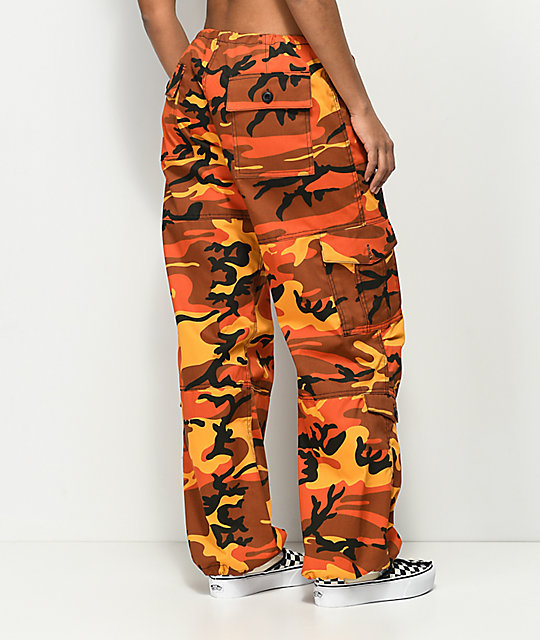 ... Rothco Orange Camo BDU Pants ... a2954f7fefe