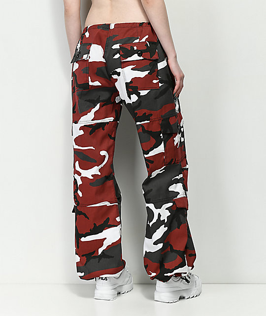 Rothco Red Camo BDU Pants