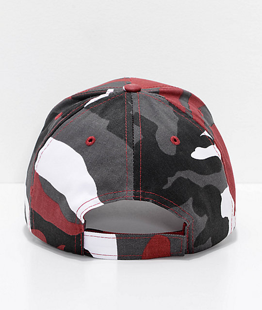 Rothco Red Camo Strapback Hat