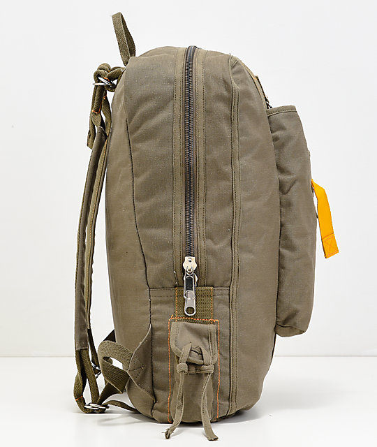 Rothco Vintage Canvas Flight Olive Backpack