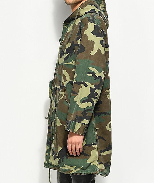 ... Rothco Vintage M-51 Camo Fishtail Parka Jacket ... d3da7b8bb56