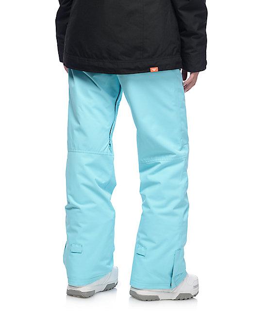 Roxy Backyard Blue Radiance 10K Snowboard Pants