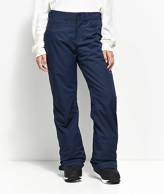 Roxy Backyard Peacoat 10K Snowboard Pants
