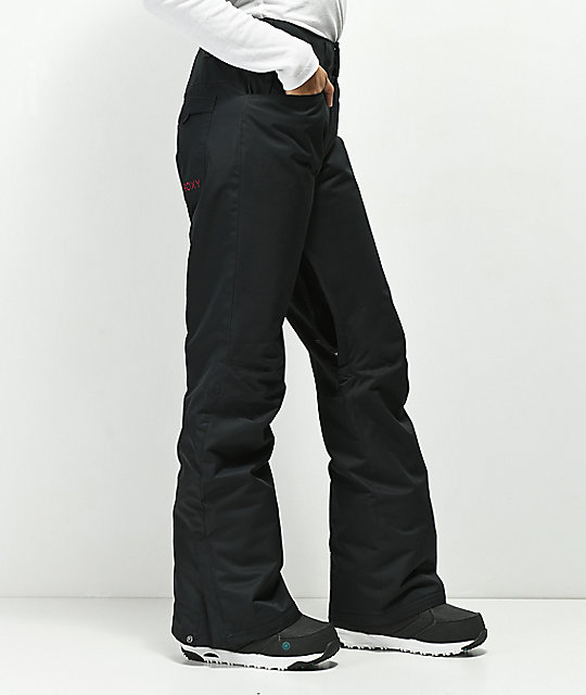 Roxy Backyard True Black 10K Snowboard Pants