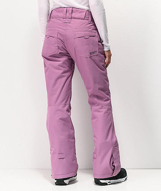 Roxy Backyard Very Grape 10K Snowboard Pants