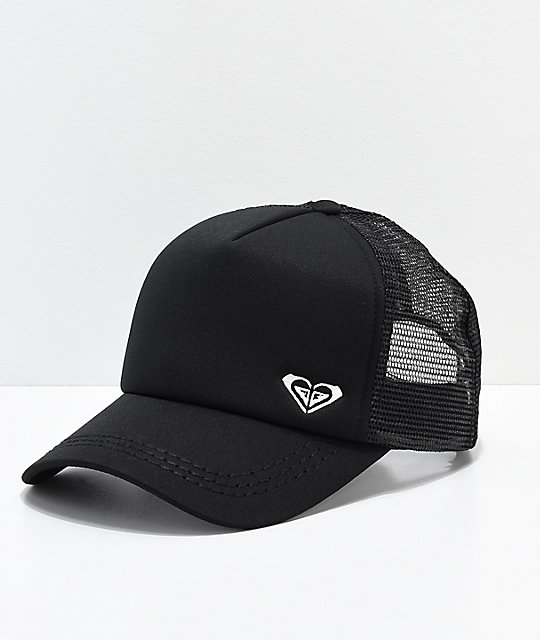 Roxy Black Finishline Trucker Hat
