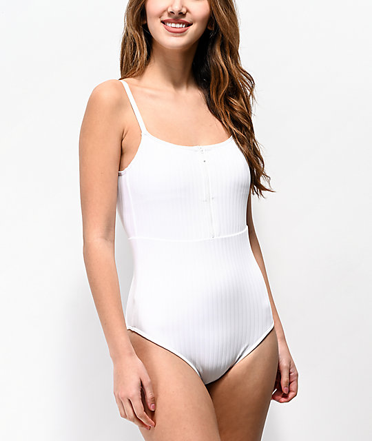 wholesale outlet official site where can i buy Roxy Bright White One Piece Swimsuit
