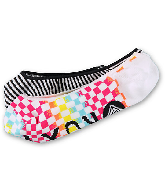 Roxy Cruiser 2 Multicolor 2 Pack No Show Socks Zumiez