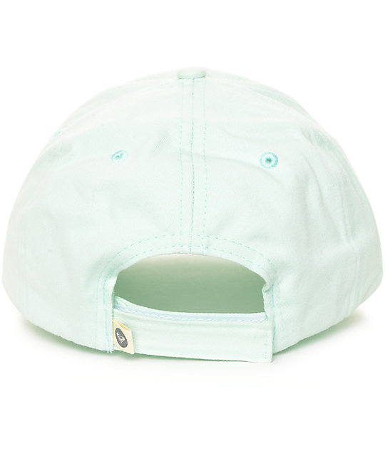 455fa440e435c ... Roxy Extra Innings Mint Baseball Hat