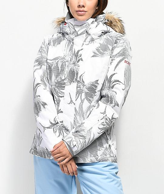 09afd27ac Roxy Womens Jet Ski 10k Snow Jacket ✓ The Skiing