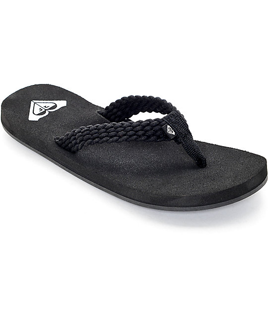 Roxy Porto Sandals for Women Black