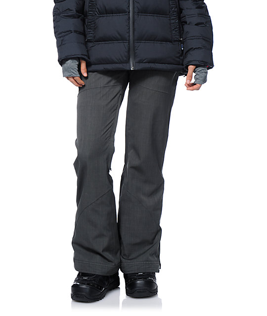Roxy Spring Break Grey 10K Snowboard Pants