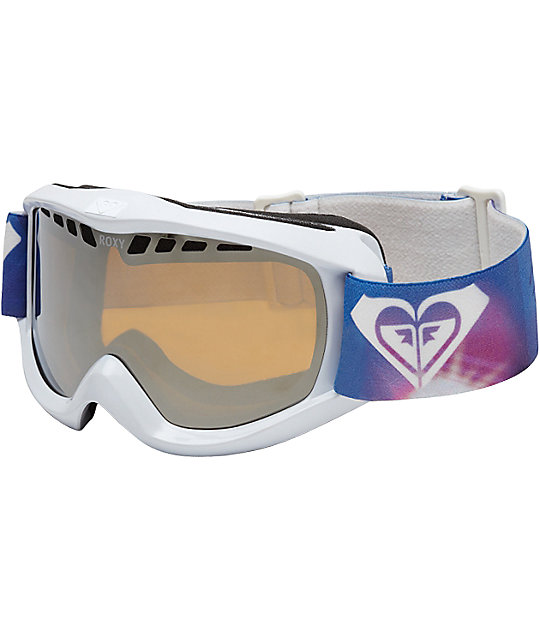 Roxy Star Trek White Womens Snowboard Goggles