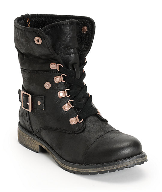 Roxy Thompson Black Boot