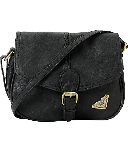 Roxy Wilderness Black Crossbody Purse