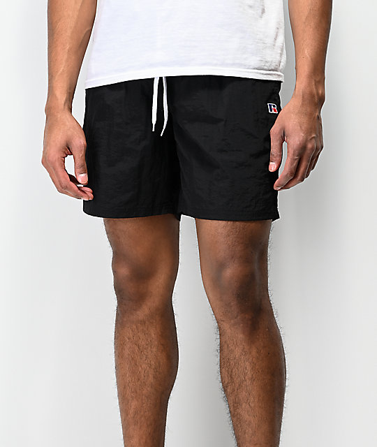 Russell Athletic Schwimmer Black Shorts
