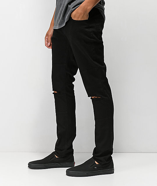 Rustic Dime Blowout Roadster Black Denim Jeans