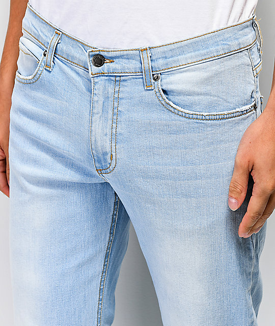 Rustic Dime Channel Islands jeans azul claro