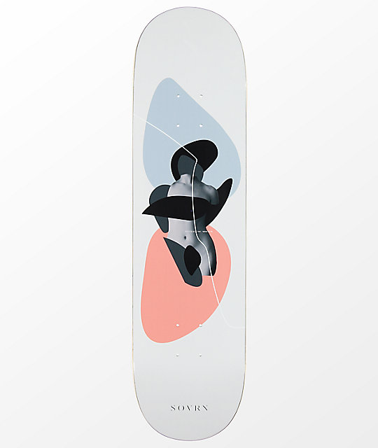 SOVRN Fluctuat 8.0 & quot; tabla de skate