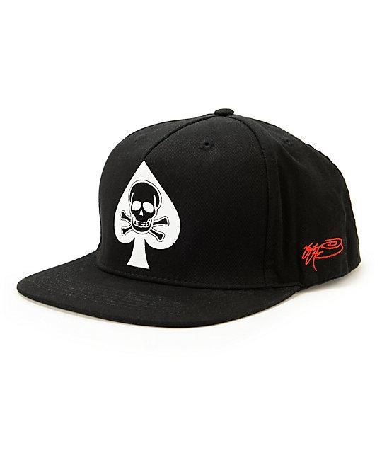 SSUR Ace Of Spades Snapback Hat  28c71ba4293