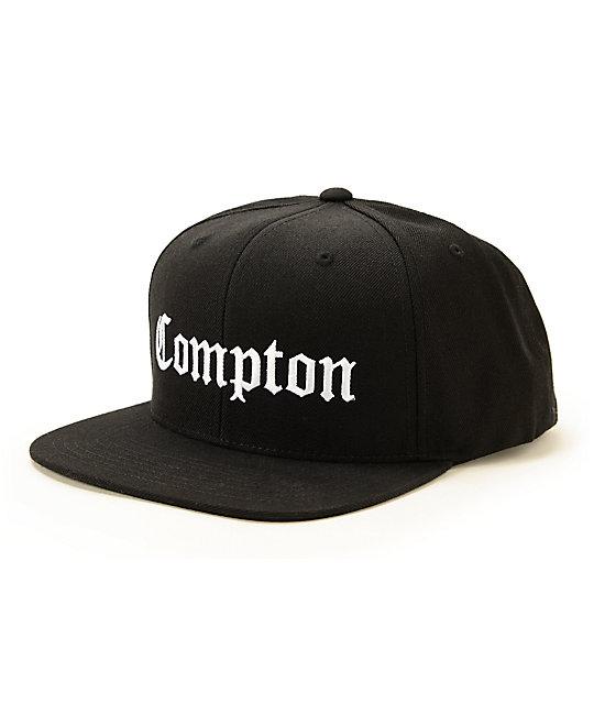 SSUR Compton gorra snapback en negro ... 64d8e8250b8