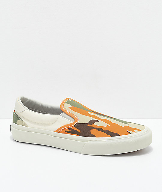 STRAYE Ventura Safety Slip-On zapatos de skate camuflados