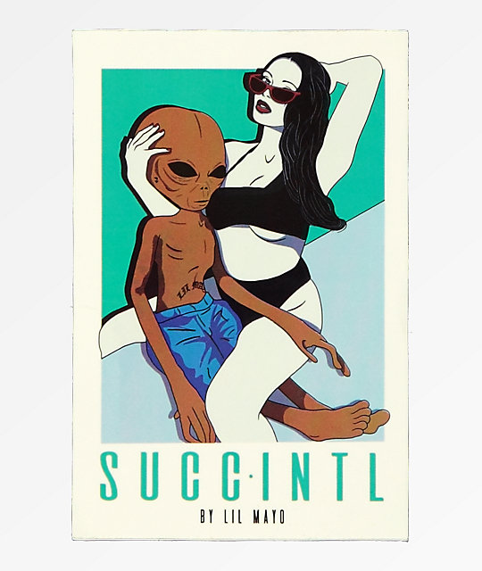 SUCC Poolside Sticker