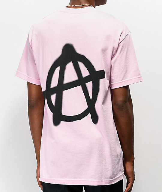 SUS BOY Anarchy Pink T-Shirt