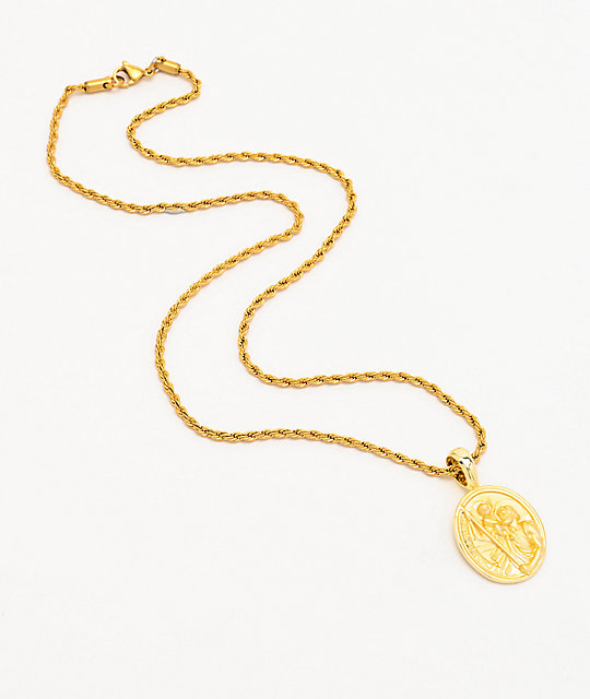 Saint Midas St. Christopher Yellow Gold 20