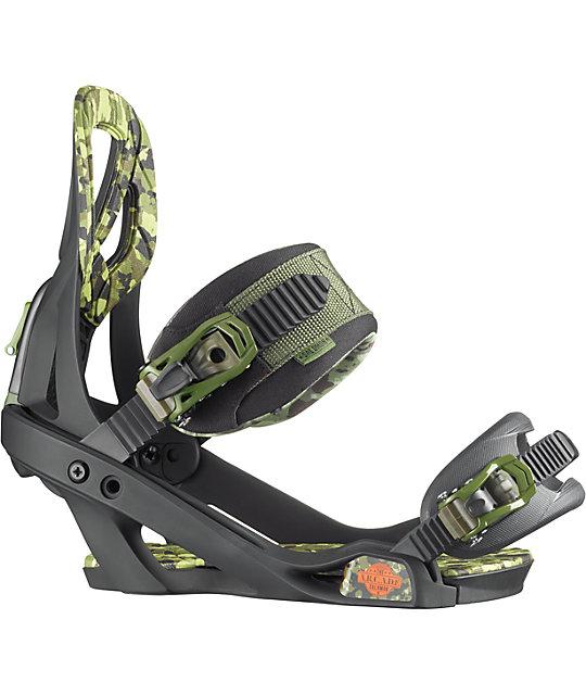 a3d3188b7e7d ... Salomon Arcade Black   Camo Snowboard Binding