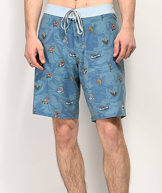 Salty Crew Bonzarelly Blue Board Shorts