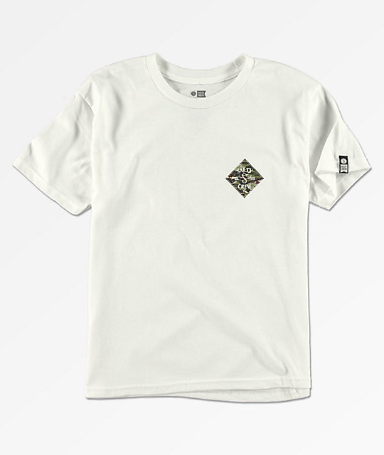Salty Crew Boys Tippet White T-Shirt