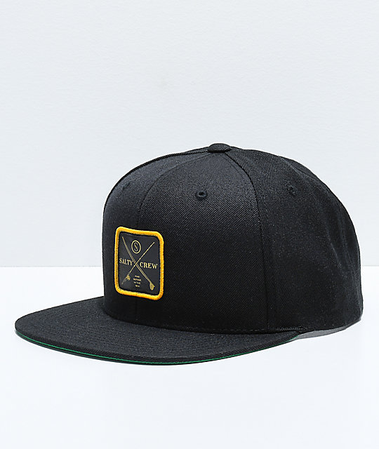 check out 7ed21 bdca6 ... where to buy salty crew chart black snapback hat 48be9 ab8a9