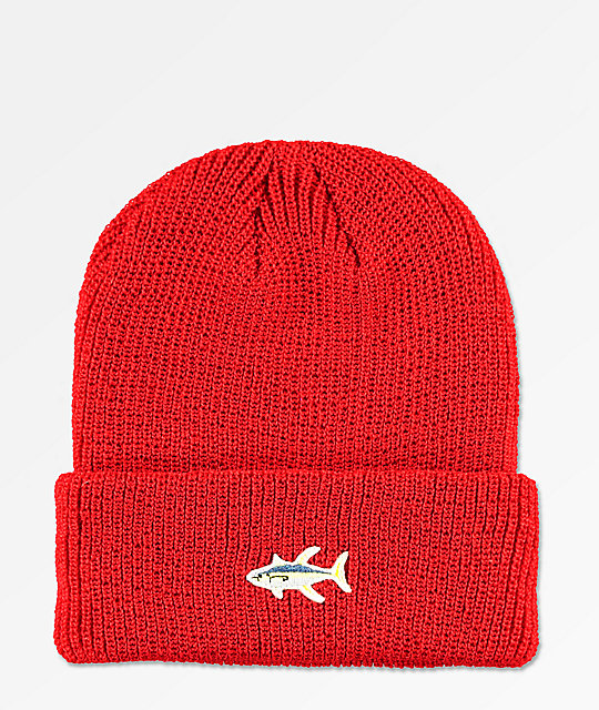 Salty Crew Happy Fish gorro rojo