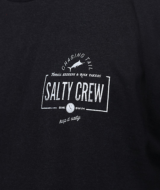 Salty Crew Seeker Black T-Shirt