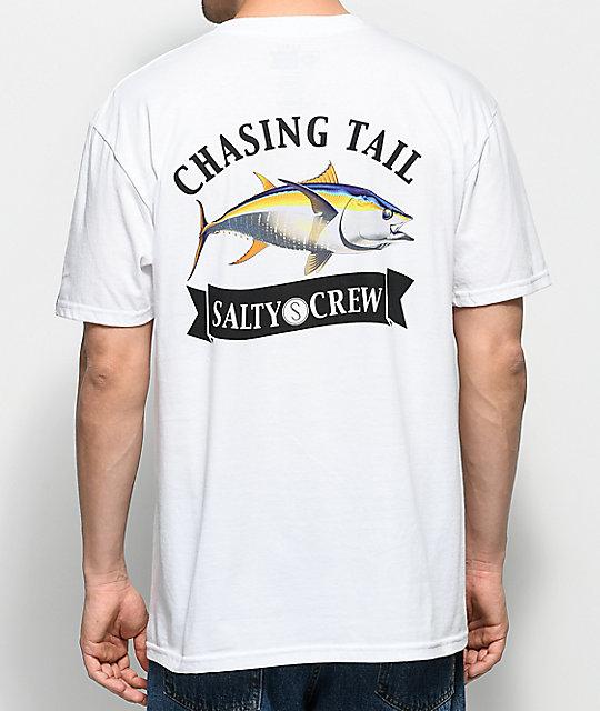 detailing c2fa7 ebd06 Salty Crew Sicklefin White T-Shirt   Zumiez