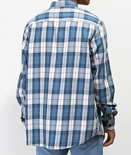 Salty Crew Spinnaker Flannel Mens