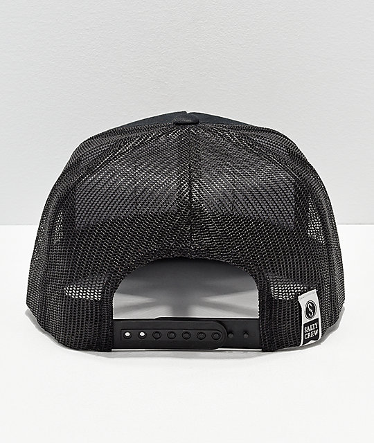 feda0bd1811 ... Salty Crew Stealth Black Trucker Hat