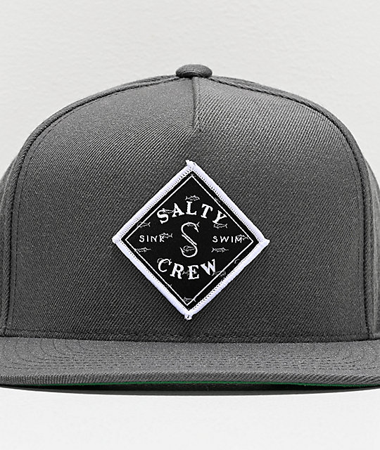 Salty Crew Tippet Cover Up gorra gris