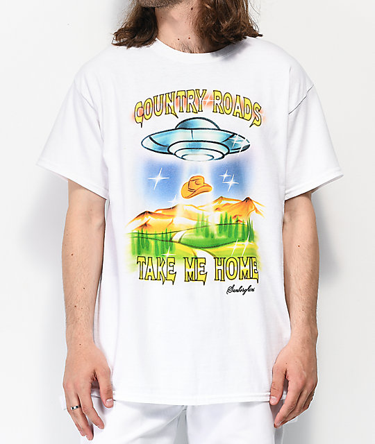 Samborghini Take Me Home White T-Shirt