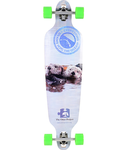 "San Clemente Everything Drains Otter 39""  Longboard Complete"