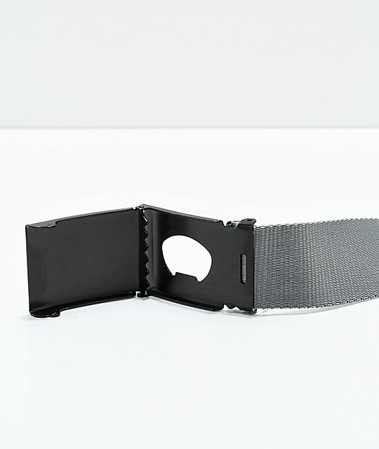 Santa Cruz Classic Dot Charcoal Web Belt